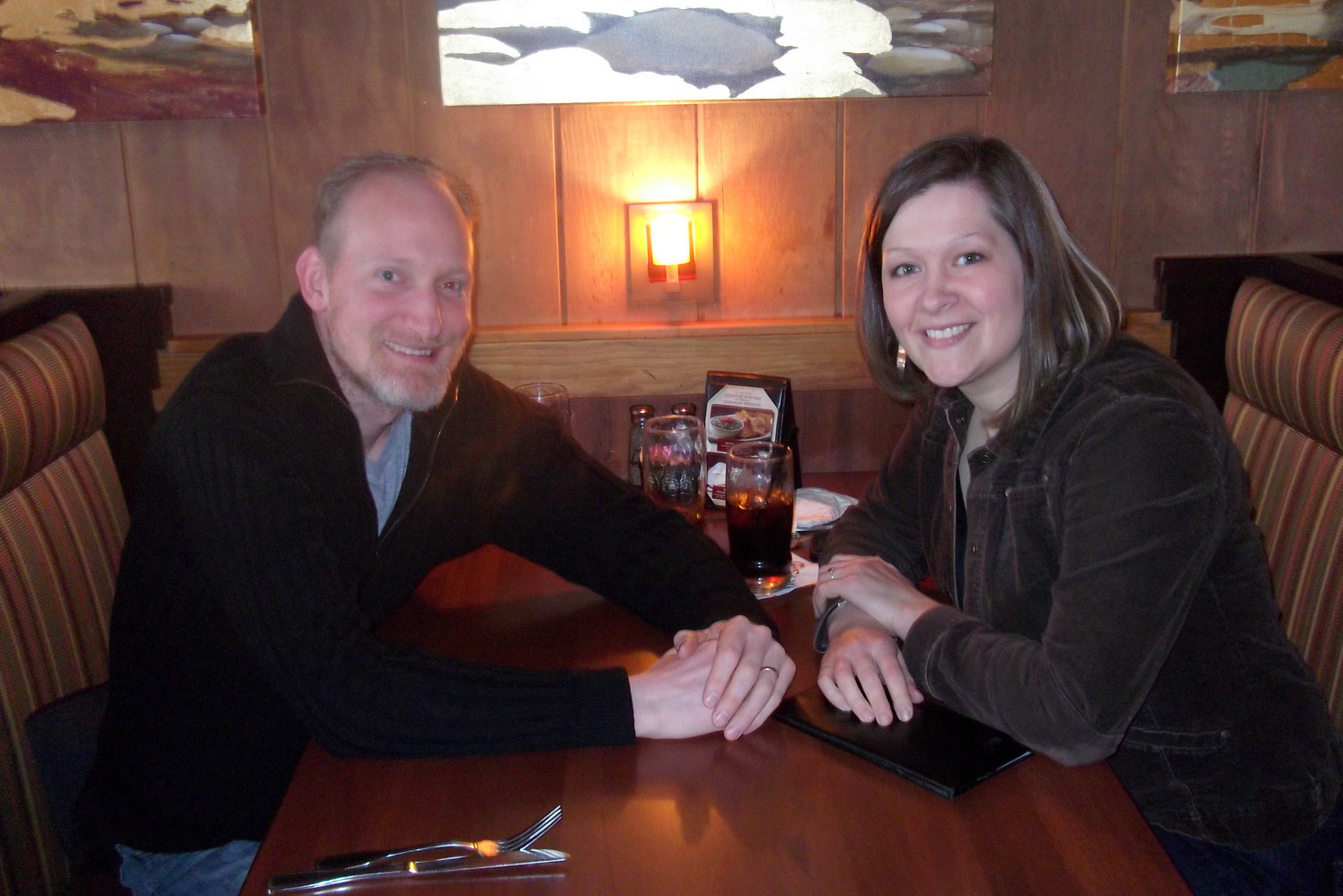 2010 ~ Date Night with College Sweetheart & Husband