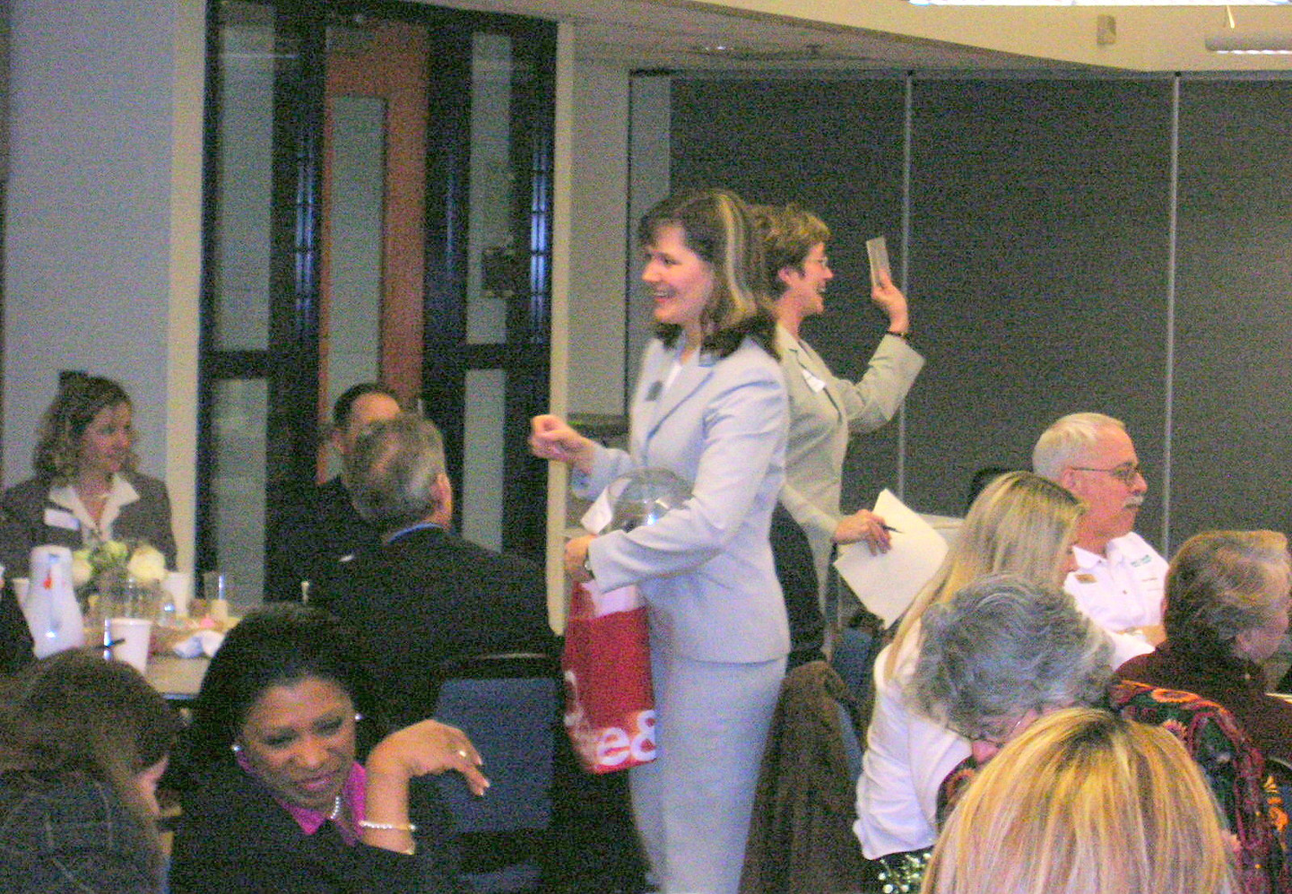 2006 ~ Hosting a Luncheon for Elder Care Providers