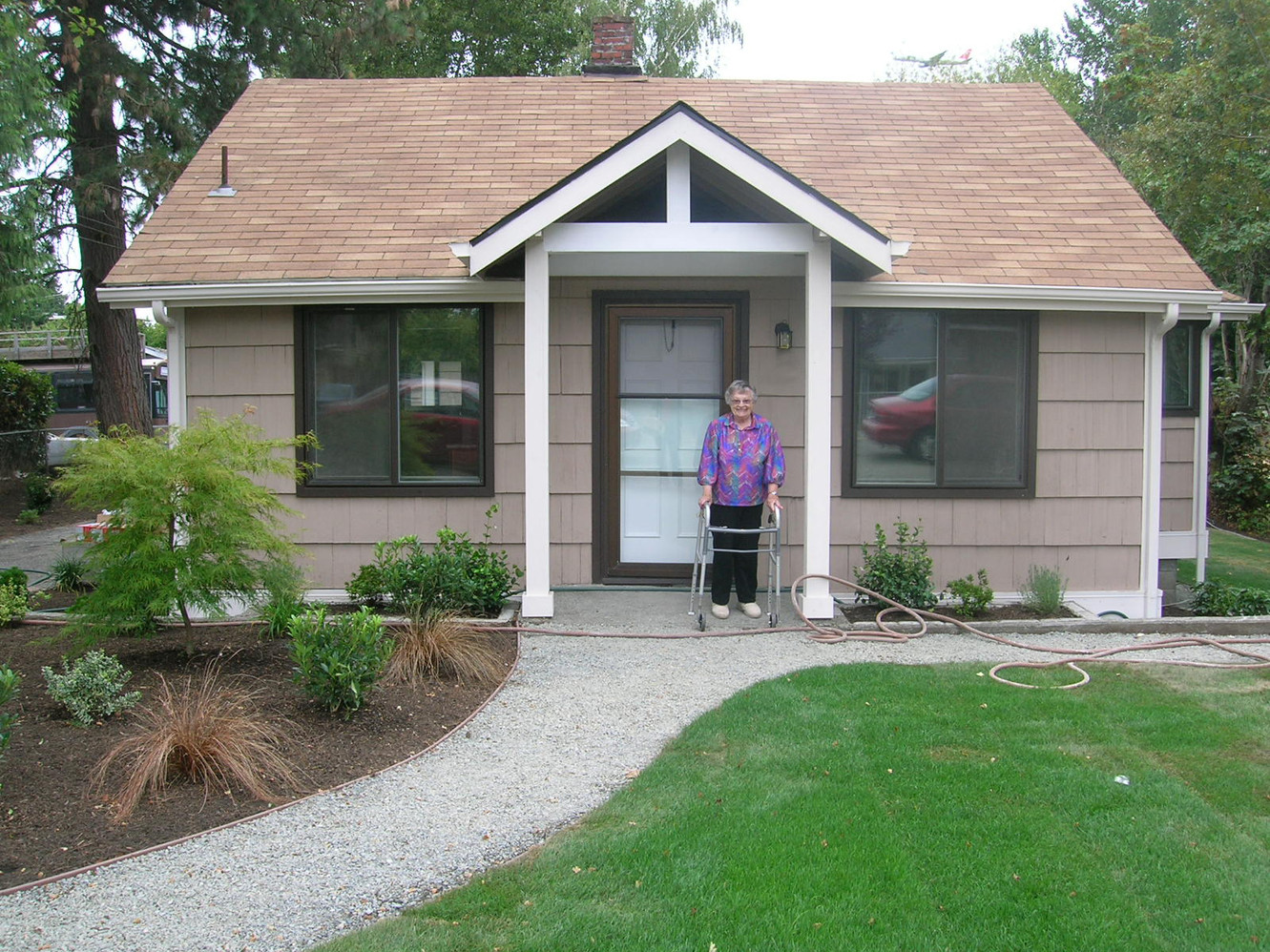 2009 ~ A SASH Client and her Renovated Home