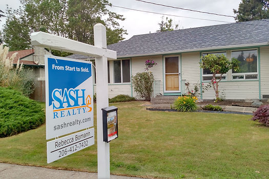 SASH Realty home sold in greater Seattle Area