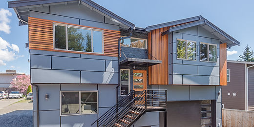 Contemporary home with views of the Puget Sound sold by SASH Realty