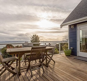 view from SASH Realty sold property overlooking the Puget Sound, WA