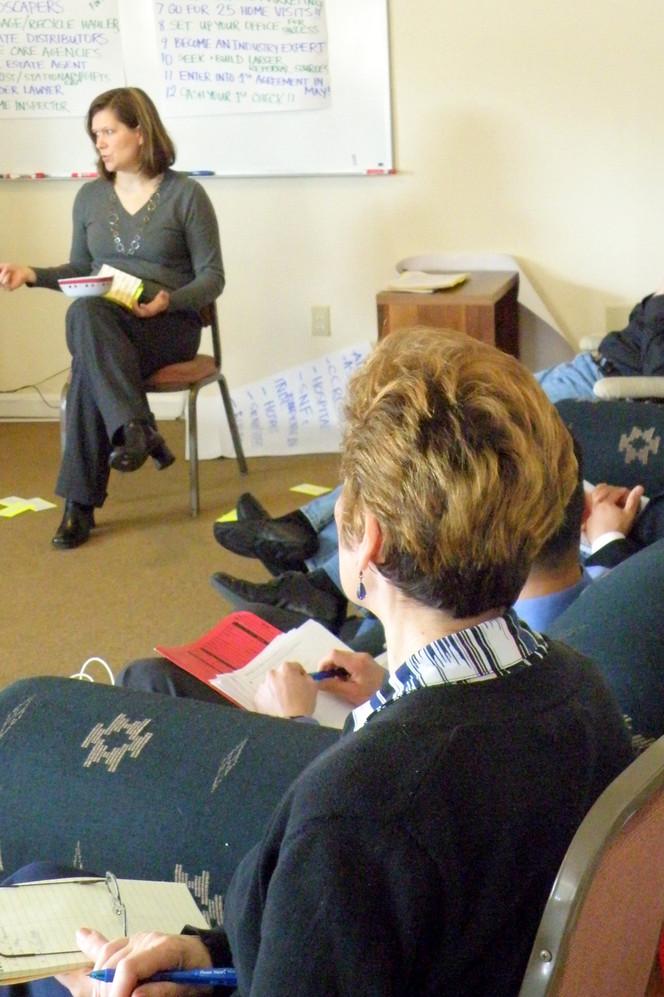 2010 ~ Training at the SASH Team Retreat