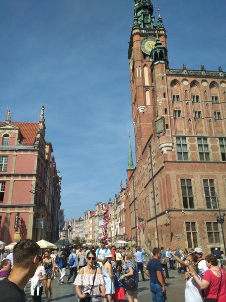 The Main Town Hall in Gdańsk