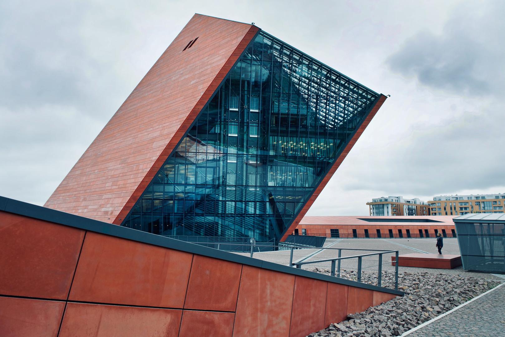 Das Europäisches Zentrum der Solidarität - dasMuseum in Danzig