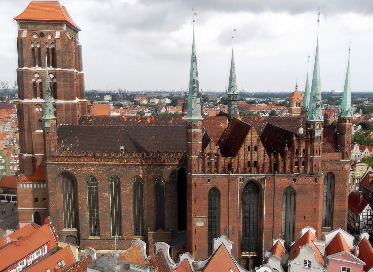 St. Mary's Church in Gdańsk