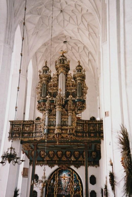 Die Orgeln in der Marienkirche  in Danzig