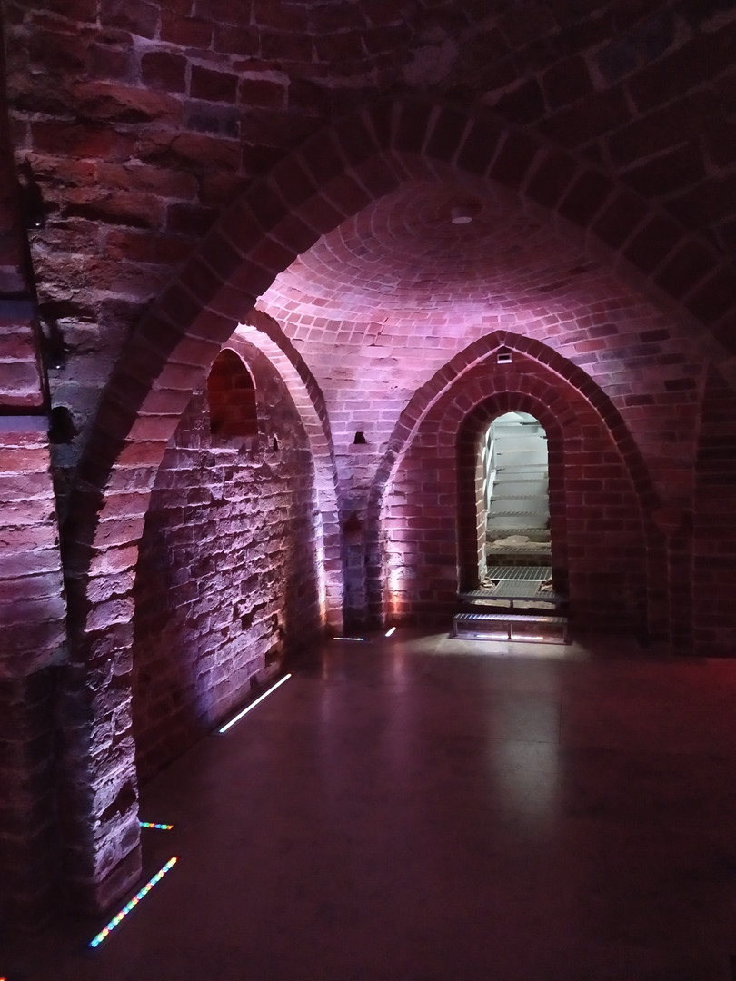 The Romanesque Cellar in Gdańsk
