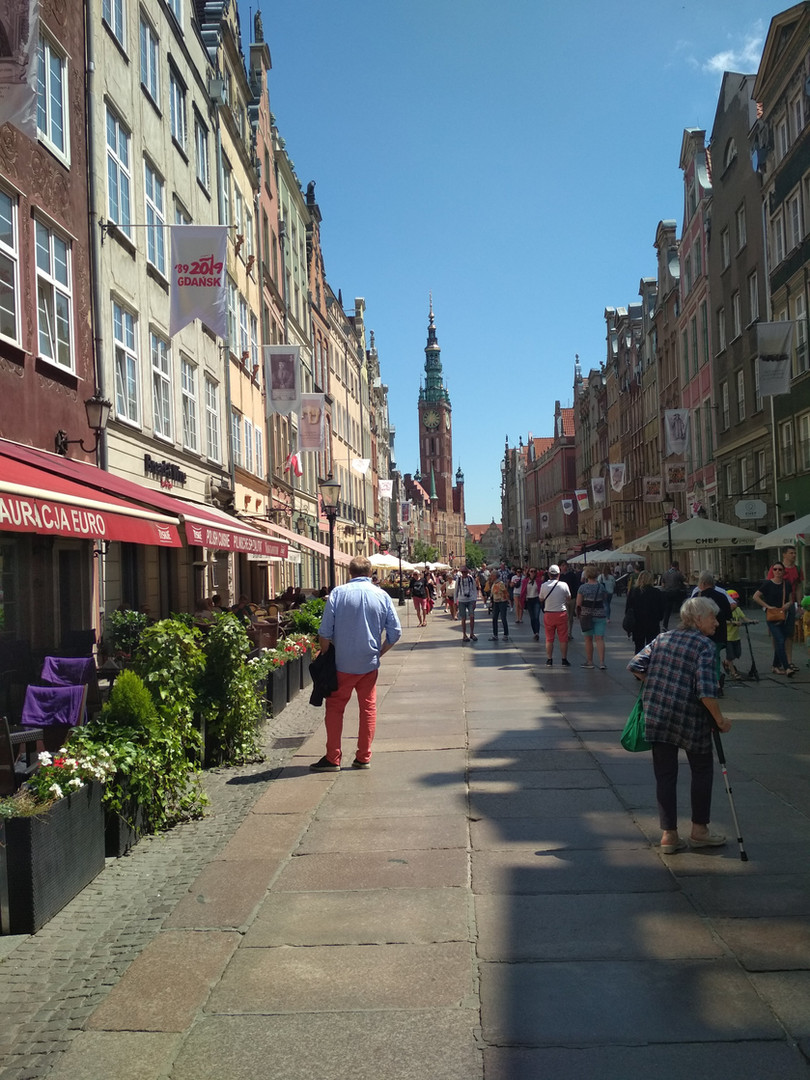The Long Lane in Gdańsk