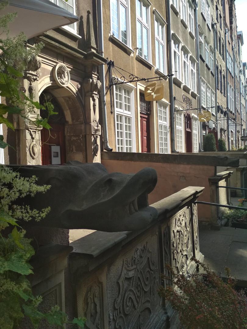 Der Wasserspeier in Danzig