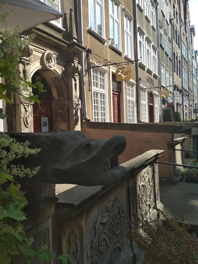 Gargoyle in Gdańsk