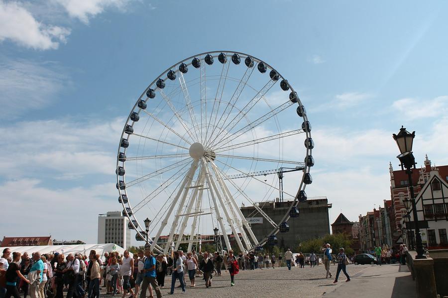 Ferris Wheel in Gdańsk