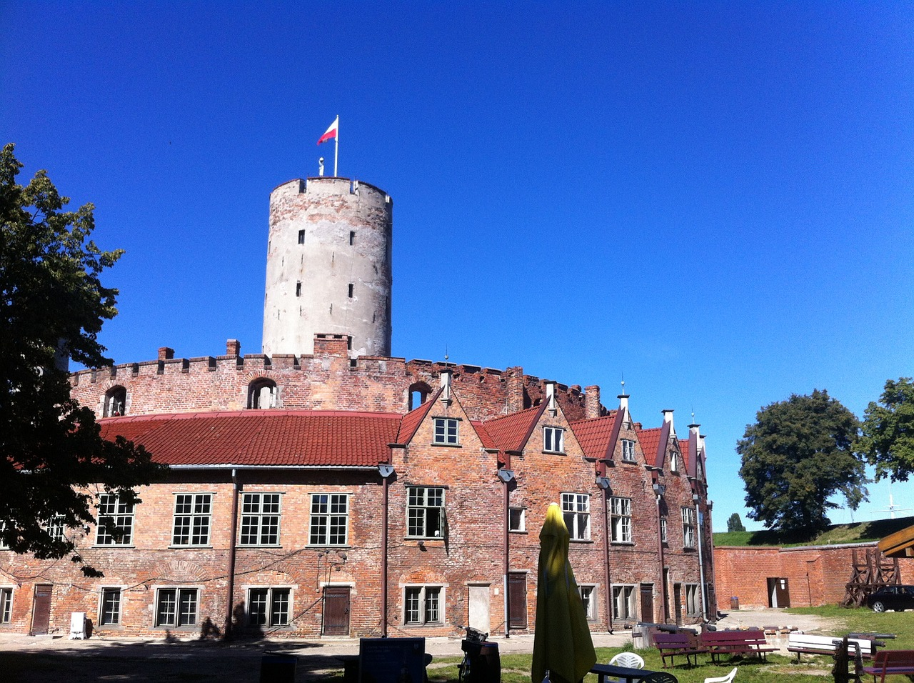 Die Festung Weichselmünde in Danzig