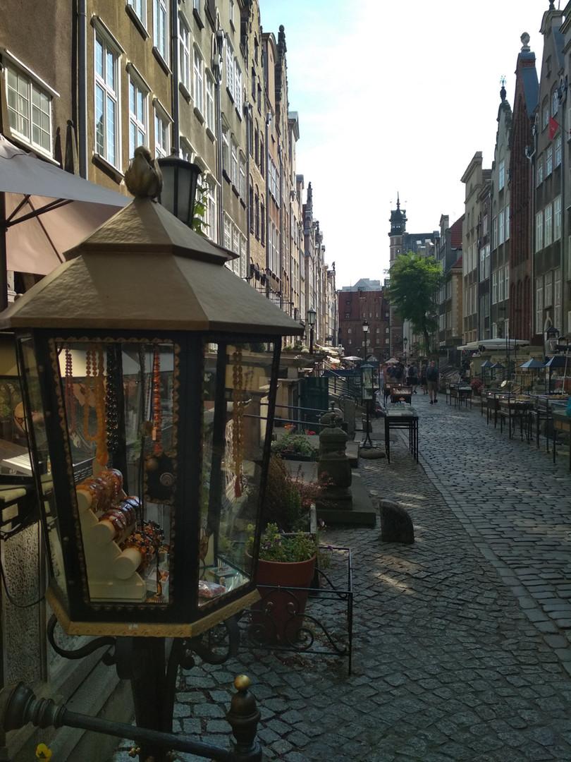 Mariacka Street in Gdańsk