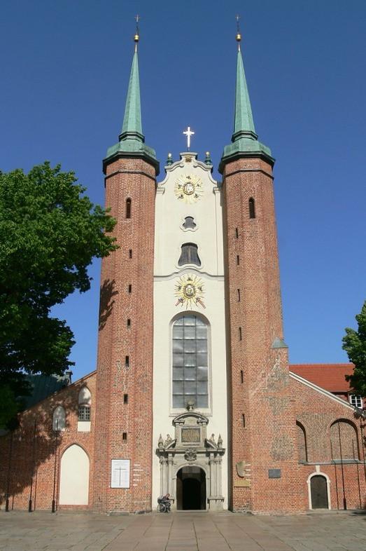 Die Kathedrale in Danzig Oliva