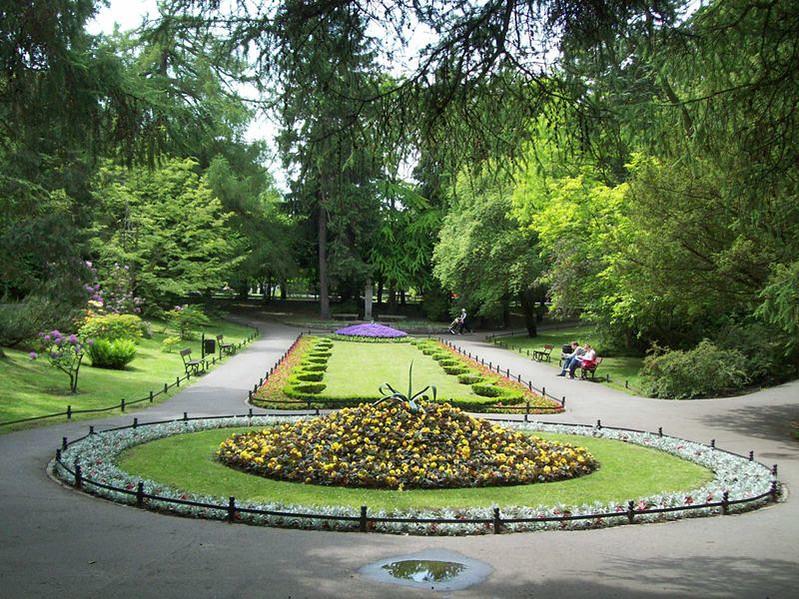 Park in Gdańsk Oliwa