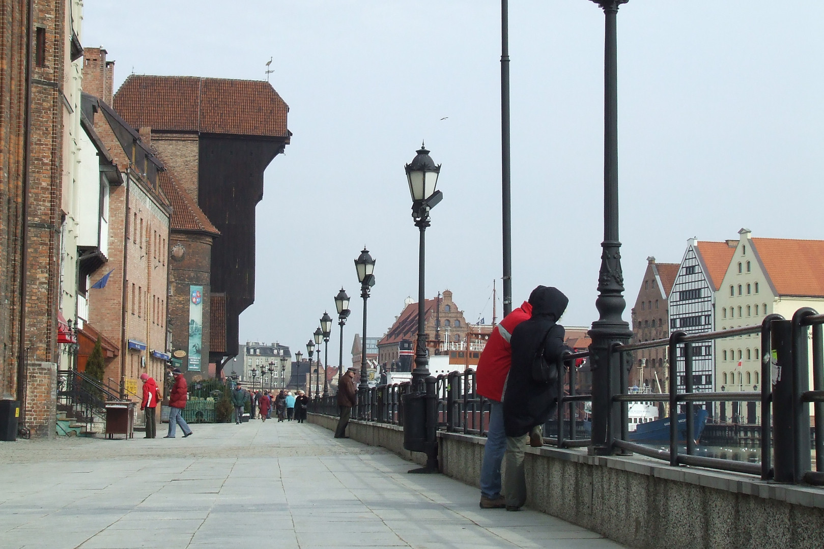 The Long Embankment in Gdańsk