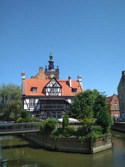 Das Haus des Müllers in Danzig