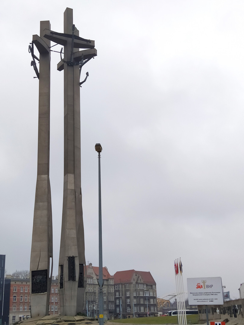 Monument to the Fallen Shipyard Workers of 1970 in Gdańsk