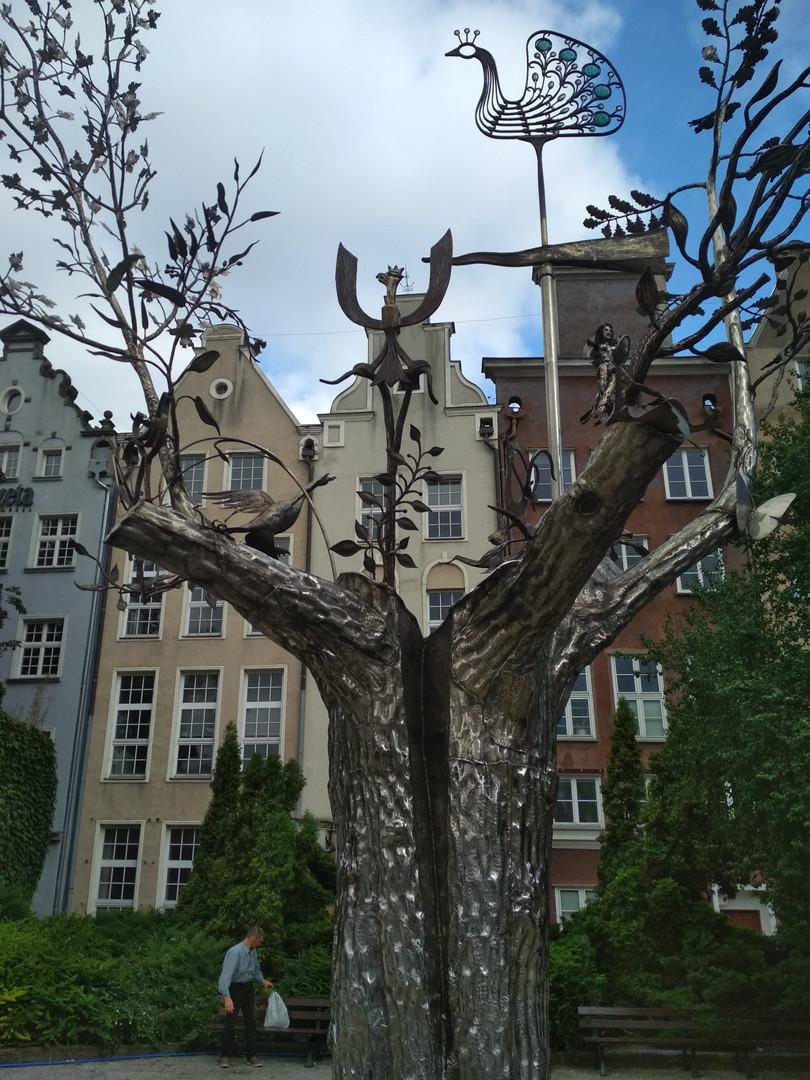 Der Millenniumbaum in Danzig