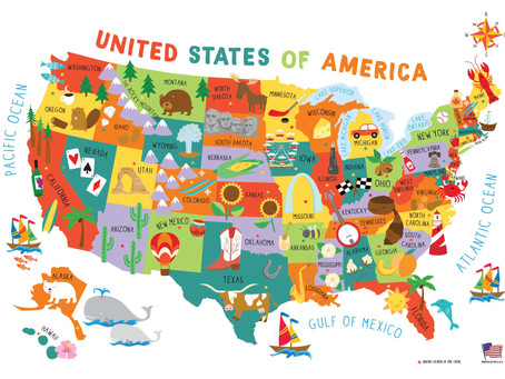Going Places in the USA!         2021 LSS Summer Program