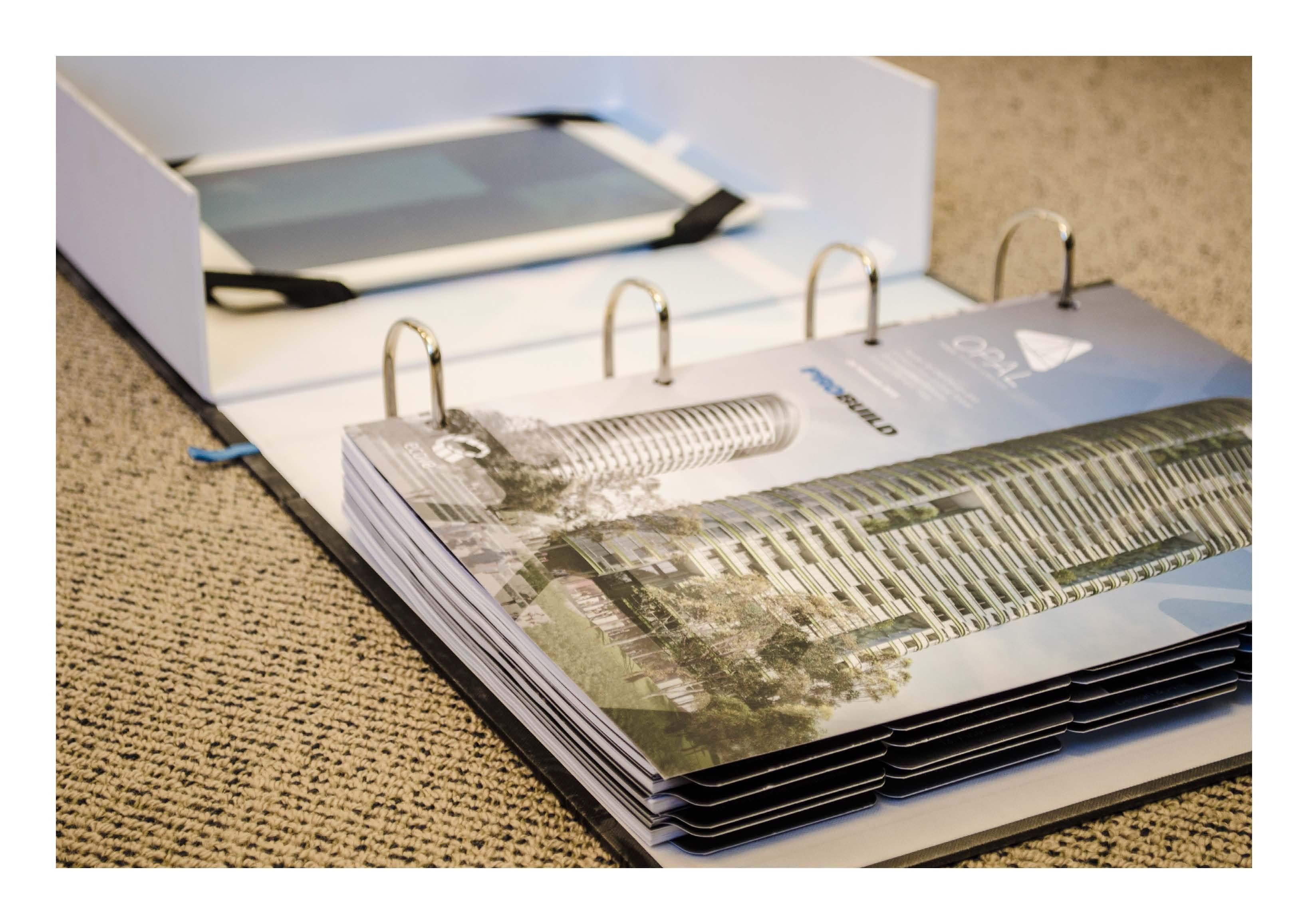 Custom folders, print, design Sydney