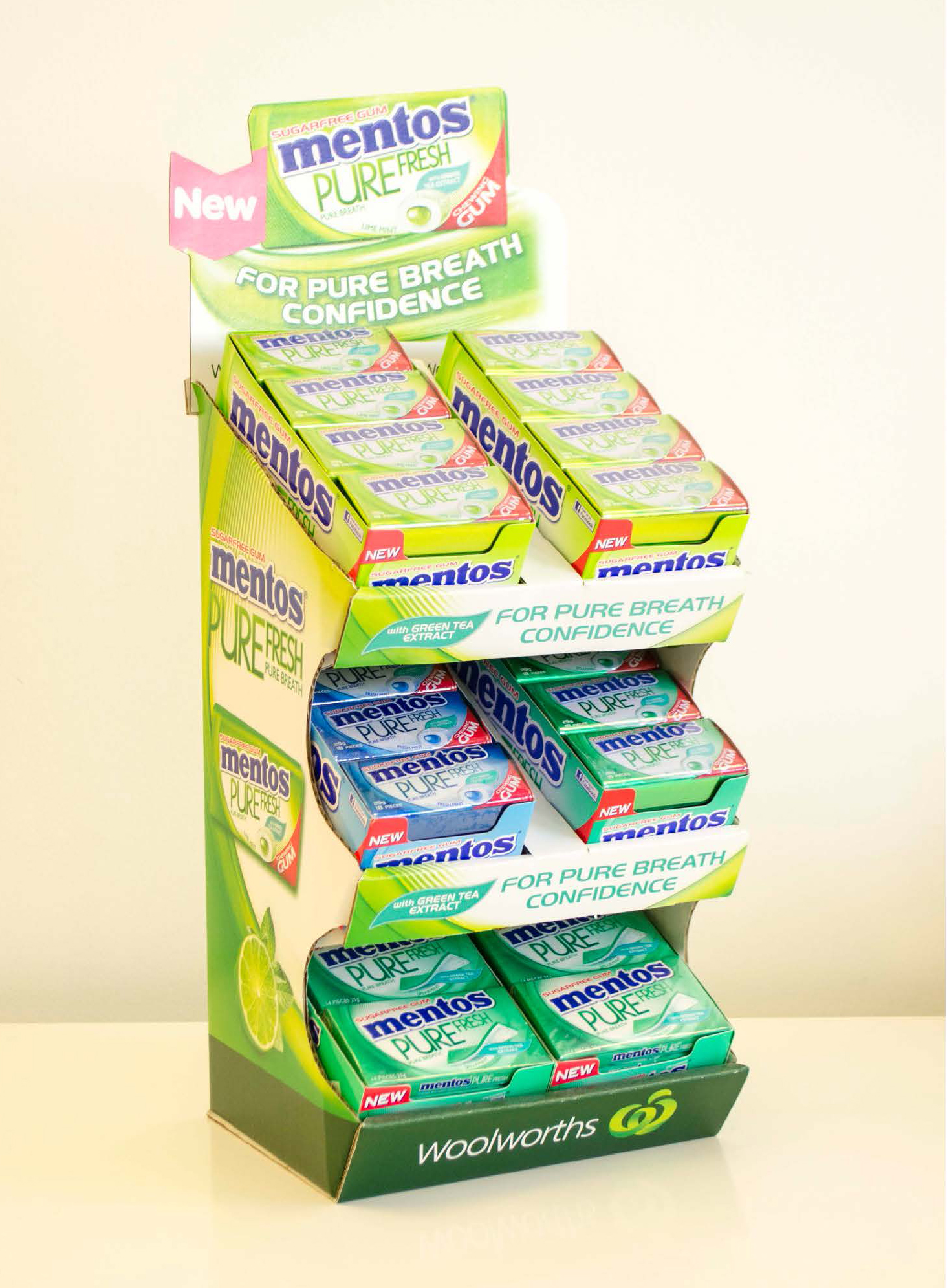 Point of sale, print, Sydney, Mentos