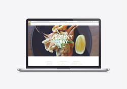 Botanty website Mockup