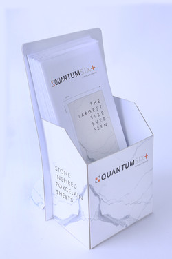 counter stand, print, production