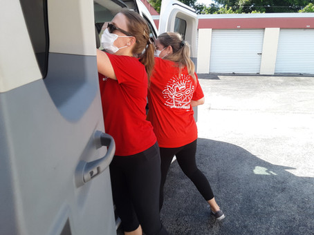 Donations in a Pandemic - Junior League of Boca Raton Step Up