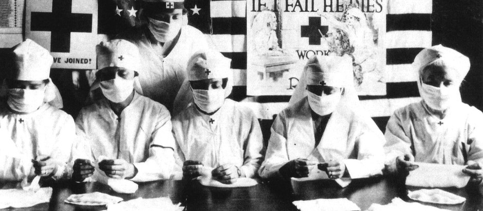 Second wave of the Spanish Flu