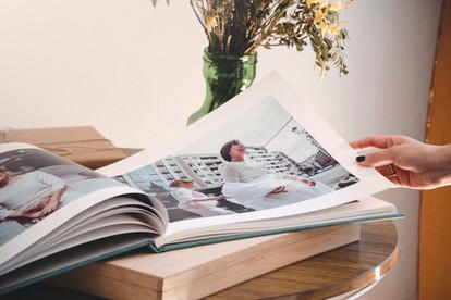 Álbum de fotos de boda álbumes para padres caja de madera