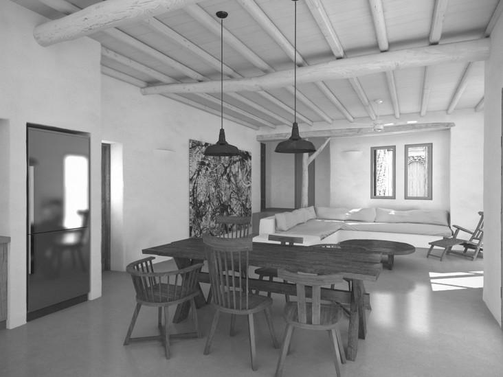 Rearrangement of residence in Mykonos, 2017