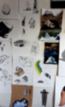 ice studio wall