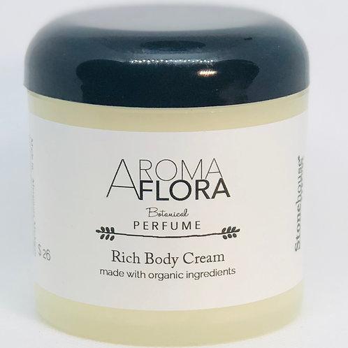 Aroma Flora perfume Body Cream  6 oz
