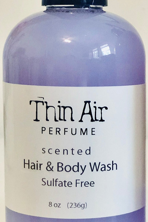 Thin Air Hair and Body wash Sulfate free 8 oz