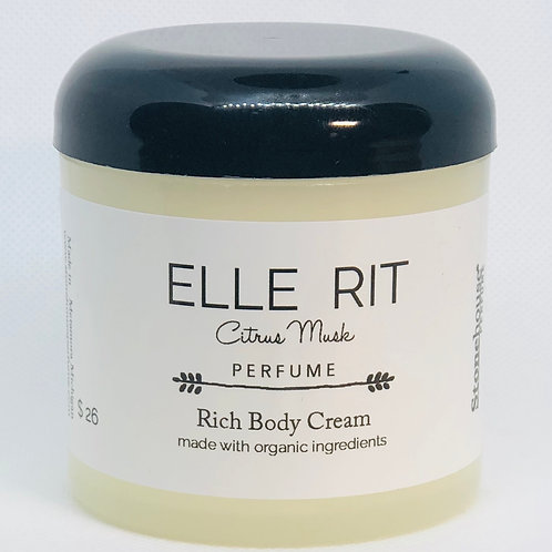 Elle Rit Perfume Body Cream 6oz