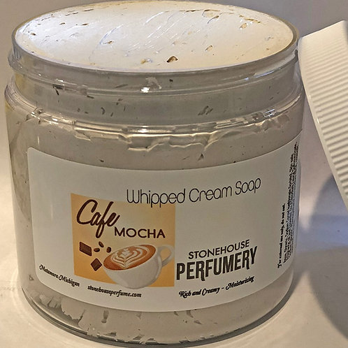 Whipped Soap Cafe Mocha