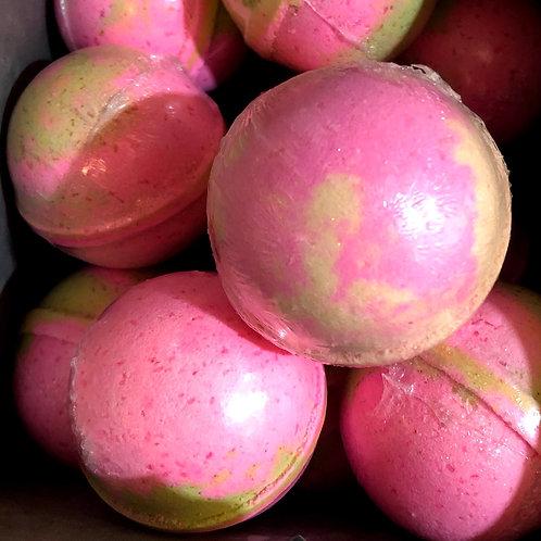 """Pink Watermelon"" Bath Bomb 6.7 oz"
