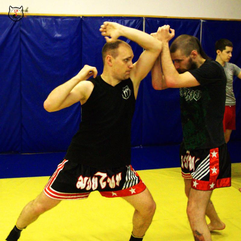 Тайский бокс, удары локтями