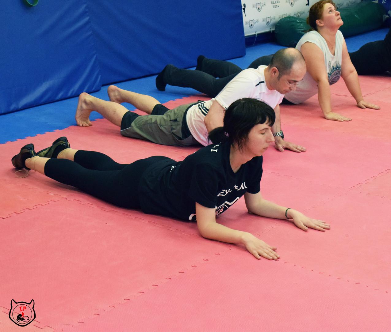 Бесплатная йога в Москве