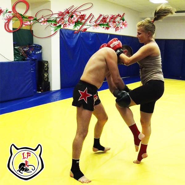 Тайский бокс для женщин и мужчин