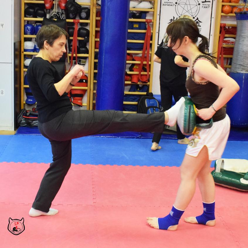 Маваши в тайском боксе