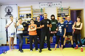 Большой мастер-класс по боевым искусствам