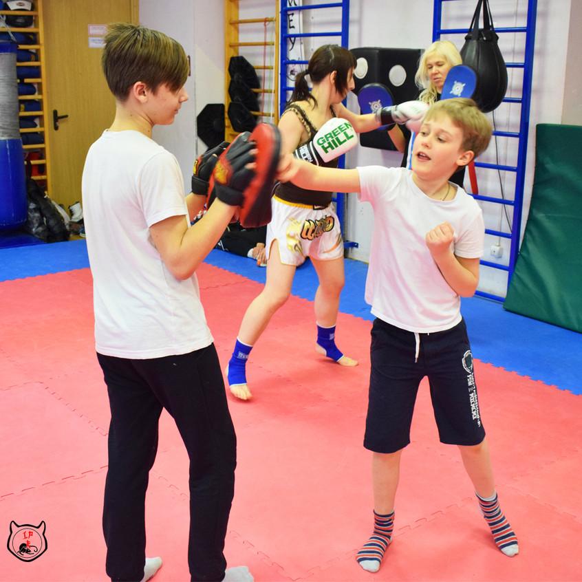 Секция боевых искусств для детей