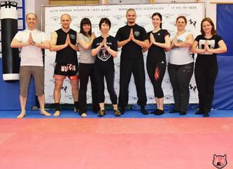 Фотоотчет с мастер-класса по йоге 25 мая