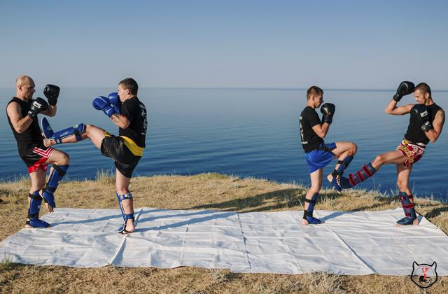 Тренировочный лагерь по боевым искусства