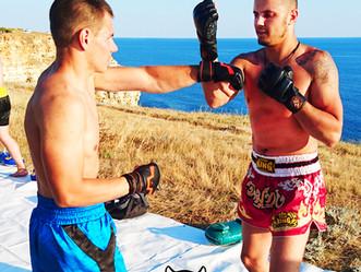 Тренировочный лагерь по тайскому боксу на Черном море