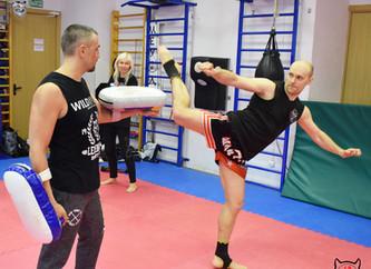 Фотоотчет с мастер-класса по тайскому боксу 30 марта.