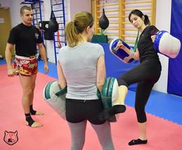 боевые искусства для женщин